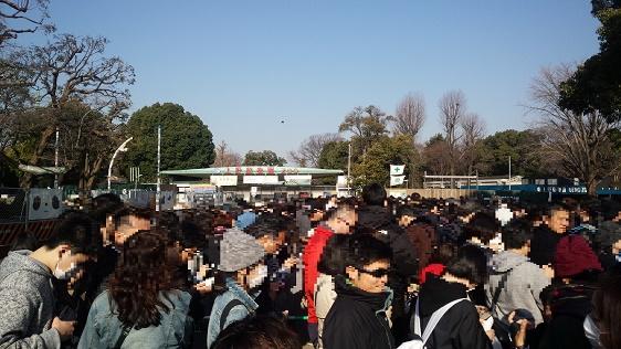 上野動物園シャンシャン整理券混雑