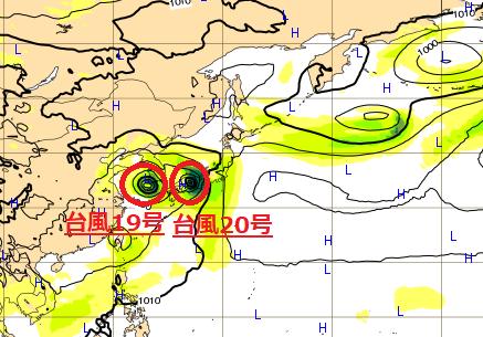 台風ヨーロッパ最新情報20180823