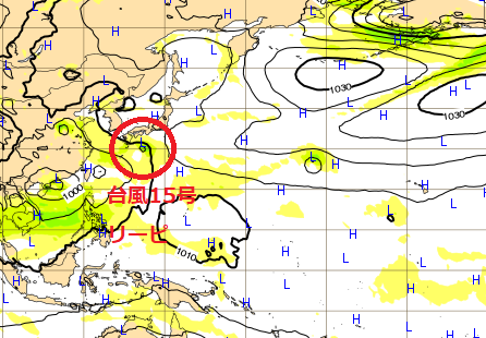 台風15号ヨーロッパ最新情報