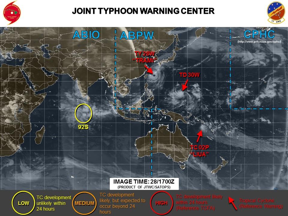 米軍台風最新情報20180929_0200